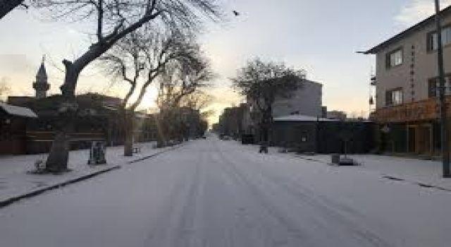 Kars'ta Tüm Sokaklarda Sessizlik Hakim