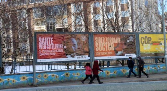 Kars'tayurttaşlarsiber suçlara karşı uyarılıyor