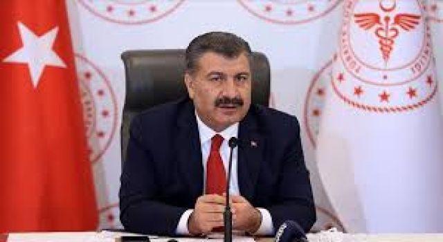 """Sağlık Bakanı Fahrettin Koca, """"Normalleşme adımlarını titizlikleçalışmaktayız."""