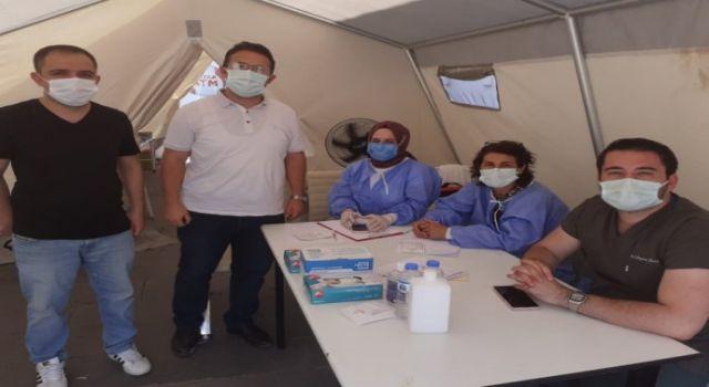 Kars'ta Aşı Çadırlarına Yoğun İlgi   Kars Haberleri