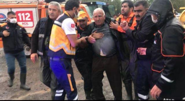Susuz 'da Sağanak Sebebiyle İki Köyde Su Baskını Yaşandı