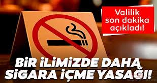 Bir kentte daha sokakta sigara içilmesi yasaklandı!