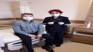 Kars'ta sağlık çalışanları kovid-19 aşısına büyük ilgi gösterdi