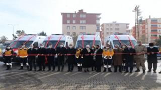 4 Yeni Ambulans İçin Kars'ta Tören Düzenlendi