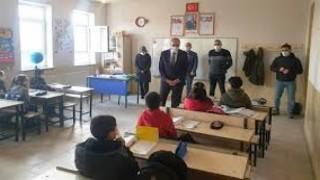 Kars'ta Köy Okullarında Yüz Yüze Eğitim Başladı