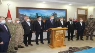 Süleyman Soylu'ya Ardahan'da büyük ilgi