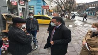 AK Parti İl Başkanı Adem Çalkın, Her zaman vatandaşımızın yanındayız
