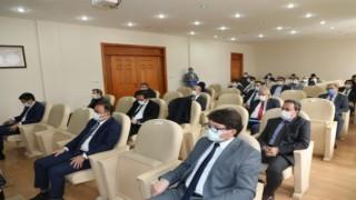 Kars İl Koordinasyon Kurulu 2021 yılı 2. Toplantısı Kars Vali Vekili Mehmet Zahid Doğu başkanlığında yapıldı