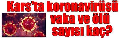 Vali Öksüz Kars'ta Korona Vaka Sayısını Açıkladı