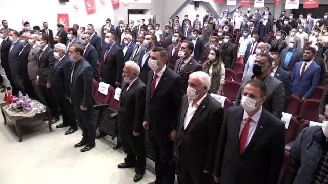 Yeniden Refah Partisi Genel Başkanı Fatih Erbakan Kars'ta konuştu